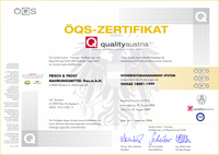 ÖQS Zertifikat